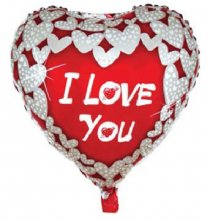 Balloon heart I love you2