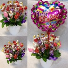 Sweet Bouquet chocolate parlines2