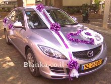 wedding car silver color