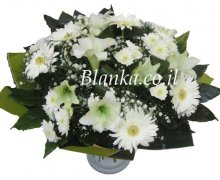 Classic White Flower Bouquets