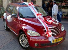 wedding car red color