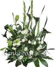 Arrangement white Sidur BLANKA -5